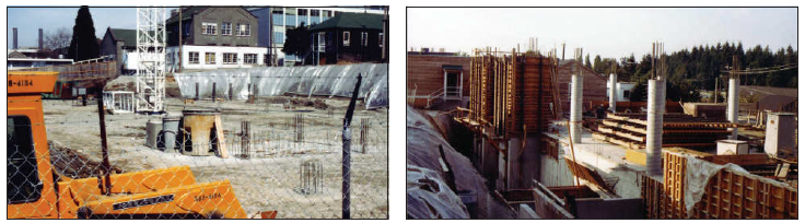 Construction of the Kenny Building