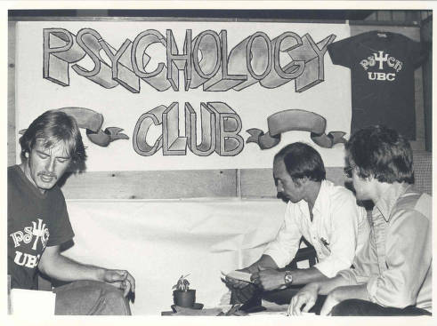 The Psychology Club, circa 1970s
