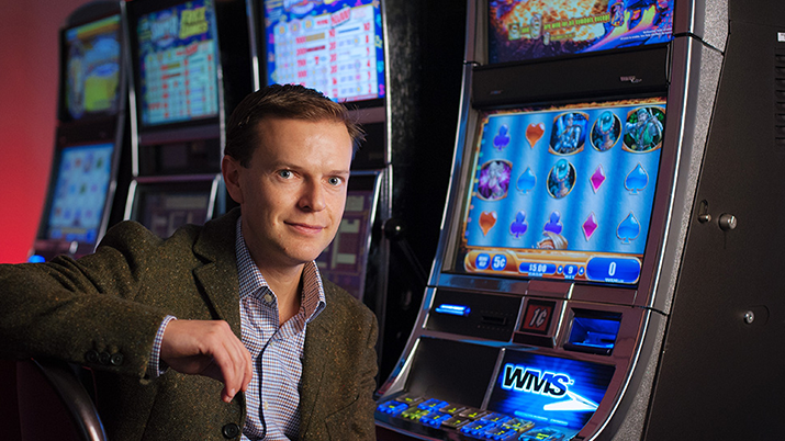 Luke Clark at UBC's Centre for Gambling Research
